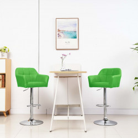 bāra krēsls ar roku balstiem, zaļa mākslīgā āda