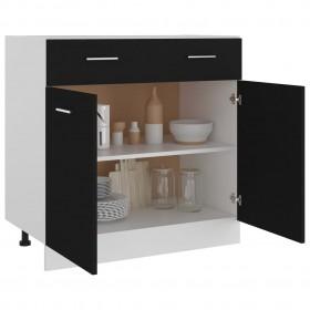 saliekams dārza galds, zaļš, 79x72x70 cm, plastmasa