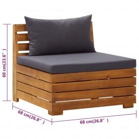grīdas paklājiņi, 6 gab., 2,16 ㎡, EVA putas, zili