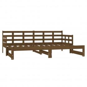 3-daļīgs dārza dīvāna komplekts ar matračiem, melns PE pinums