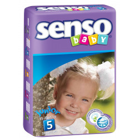 "Autiņbiksītes ""Senso Baby"" junior В5 (11-25 kg). 16gab."
