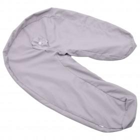 uzglabāšanas kastes ar vāku, 4 gab., 32x32x32 cm, rozā audums