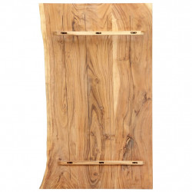 vannasistabas galdiņa virsma, 100x55x3,8 cm, akācijas masīvkoks