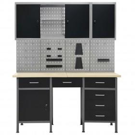 stikla burciņas ar slēdzamu vāku, 12 gab., 5 L