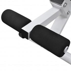 istabas aizslietnis, 200x170 cm, saliekams, melns ar baltu
