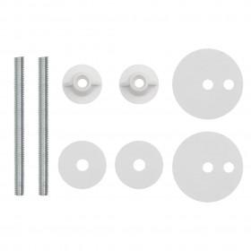 stiepļu žoga spriegotāji, 5 gab., 90 mm, zaļš tērauds