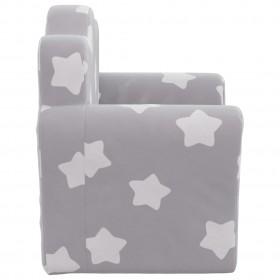 suņu dīvāns, pelēks, 69x49x40 cm, plīšs, mākslīgā āda