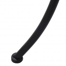 masāžas krēsls, atgāžams, brūns audums