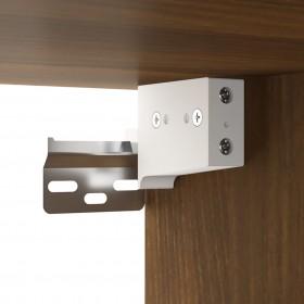 spoguļgaldiņš ar tabureti, rozā, 100x40x146 cm, paulonijas koks