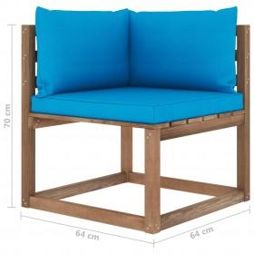 piepūšams vingrošanas paklājs ar pumpi, 300x100x15 cm, rozā PVC