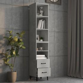vitrīna, melna, 82,5x30,5x80 cm, skaidu plāksne
