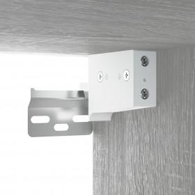 kāpņu paklāji, 15 gab., 65x24x4 cm, tumši pelēki ar zilu