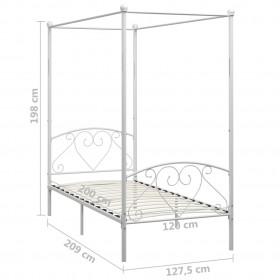 """projekcijas ekrāna audums, metālisks PVC, 100"""", 4:3"""