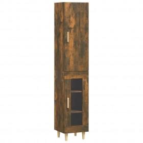 uzglabāšanas kastes, 4 gab., melnas, bambuss