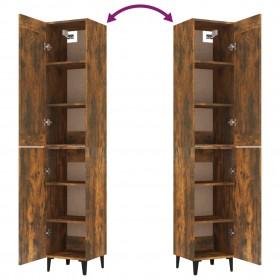 akvārija LED lampa ar stiprinājumiem, 75-90 cm, zila un balta