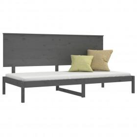 kaķu māja ar sizala stabiem nagu asināšanai, 60 cm, pelēka