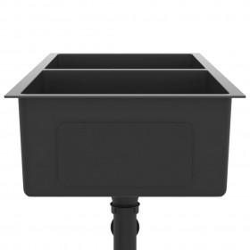 kaķu māja ar sizala stabiem nagu asināšanai, 60 cm, bēša