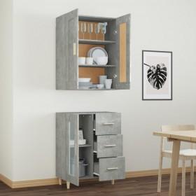 vannasistabas skapītis ar spoguli un LED, 89x14x62 cm