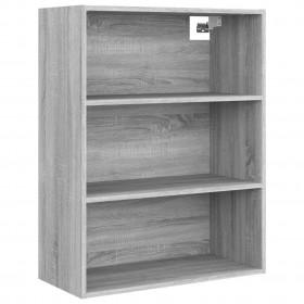 kaķu māja ar sizala stabiem nagu asināšanai, 170 cm, pelēka