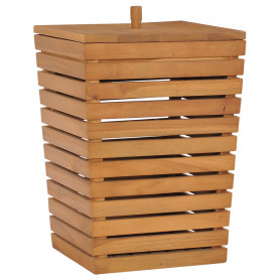 veļas kaste, 30x30x45 cm, masīvs tīkkoks