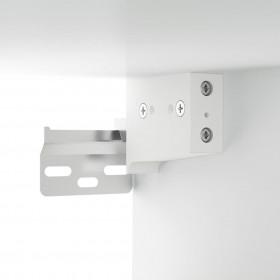 saliekams pludmales krēsls, eikalipta masīvkoks, zaļš audums