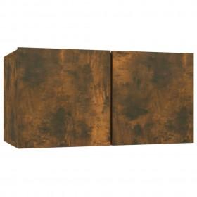 saliekamas suņu kāpnes, 62x40x49,5 cm, brūnas