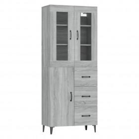 vannasistabas skapītis ar spoguli un LED, 50x13x70 cm