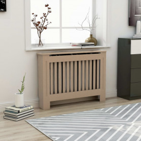 radiatora pārsegs, 112x19x81 cm, MDF