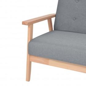 suņu dīvāns, pelēks, 67x52x40 cm, mākslīgā āda