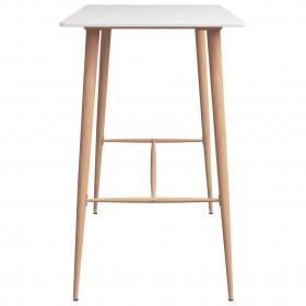 Eļļas pudele Maku Maku porcelāna 6,3x19,9cm balta