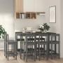 aizkars mezglošanas tehnikā, 140x240 cm, pelēkbrūna kokvilna