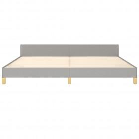 FMD kafijas galdiņš, 70x70x35,5 cm, spīdīgi baltā un betona krāsā