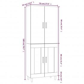 polikarbonāta loksnes, 28 gab., 4 mm, 121x60 cm