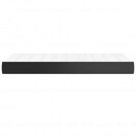 Buļļa galvas sienas dekors, sudraba, 125 cm, alumīnijs