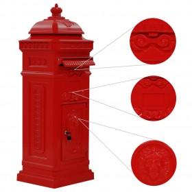 Esschert dizains DIY Ligzdošanas Box ar Krāsas 14.8x11.7x20 cm KG145