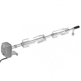 elektriskais grila iesms ar motoru, 1000 mm
