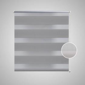 3 paneļu vēja aizsargsiets, 400x120 cm, audums, balts