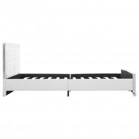 vidaXL kafijas galdiņš, franču stila dizains, koks