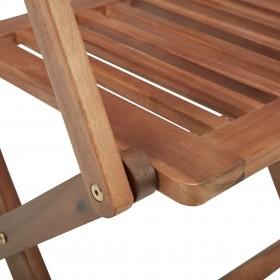 vidaXL virtuves krēsli, 2 gab., balti
