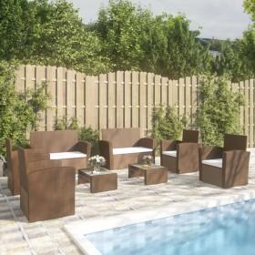 vidaXL kafijas galdiņš, 100x60x35 cm, pelēks