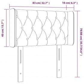 monitora paliktnis, 100x24x13 cm, skaidu plāksne, balts, ozola