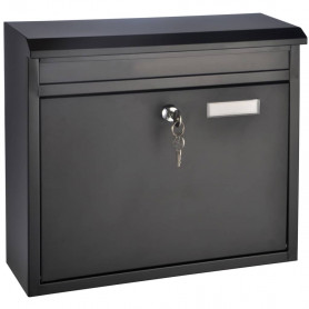 HI pastkastīte, melna, 36x12x32 cm