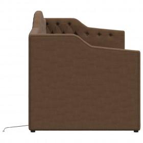kaķu telts ar somu, vigvama forma, svītraina, 60x60x70 cm
