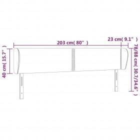 Paklājs Chic, pelēks, 55x50 cm
