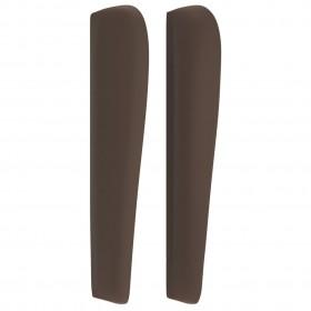 trīsdaļīgs dīvānu komplekts, gaiši pelēks audums