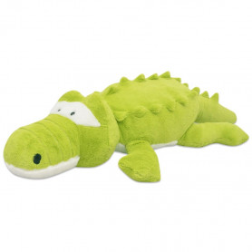 rotaļu krokodils, XXL, plīšs, 150 cm