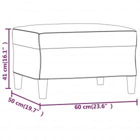 saliekams masāžas galds, 2 daļas, koks, melns ar oranžu