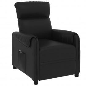 bīdāmās durvis, alumīnijs un ESG stikls, 76x205 cm, melnas