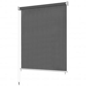 vidaXL atpūtas krēsls, 65x64x65 cm, zila samta apdare
