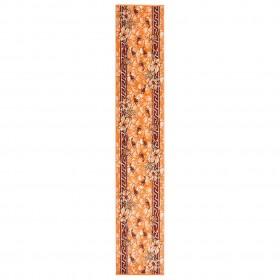 vidaXL virtuves krēsli, 2 gab., zaļš audums, masīvs ozolkoks